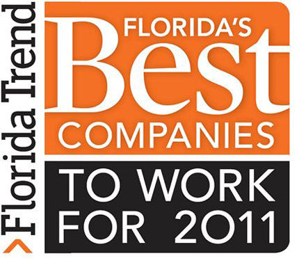 Florida's Best Companies to Work For 2011 Florida Trend